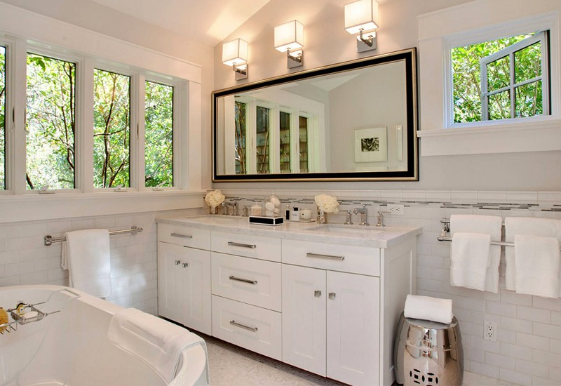 Деликатный вопрос - выбираем окна для ванной комнаты