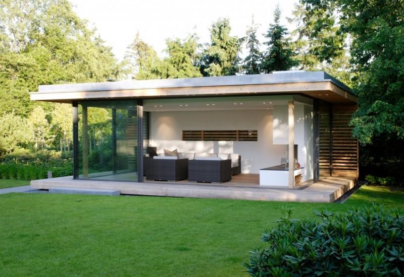 Садовый домик – общая картина строительства