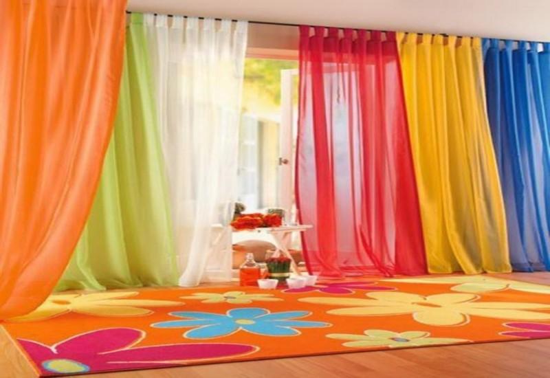 Как подобрать цвет штор для комнаты