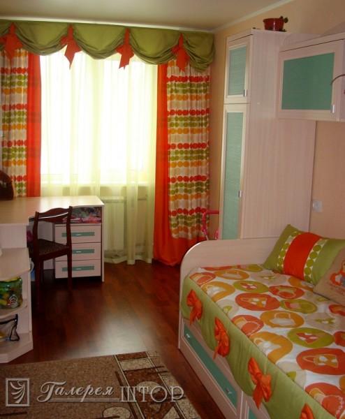 Какие выбрать шторы в детскую комнату