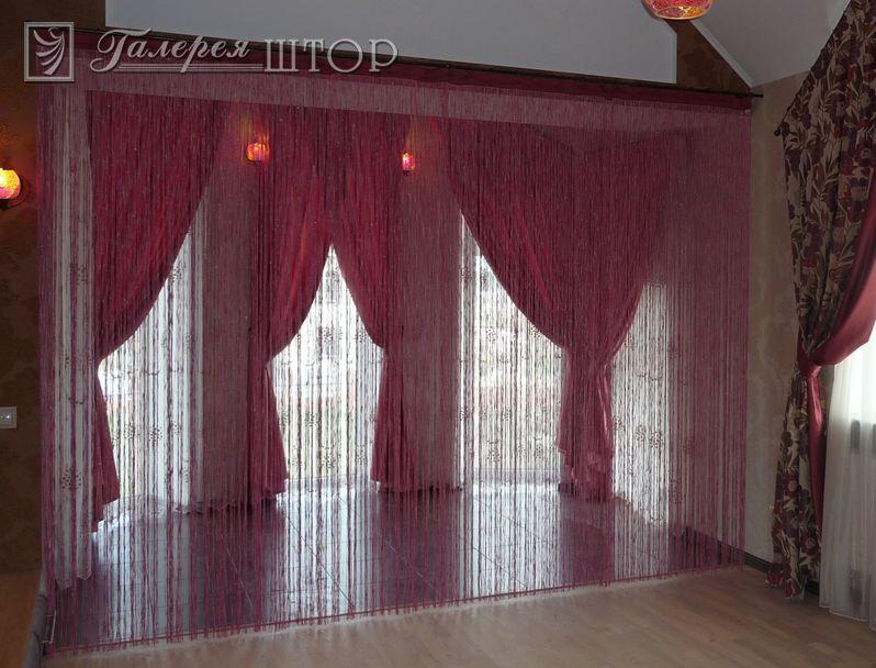 Нитяные шторы и их интересные достоинства