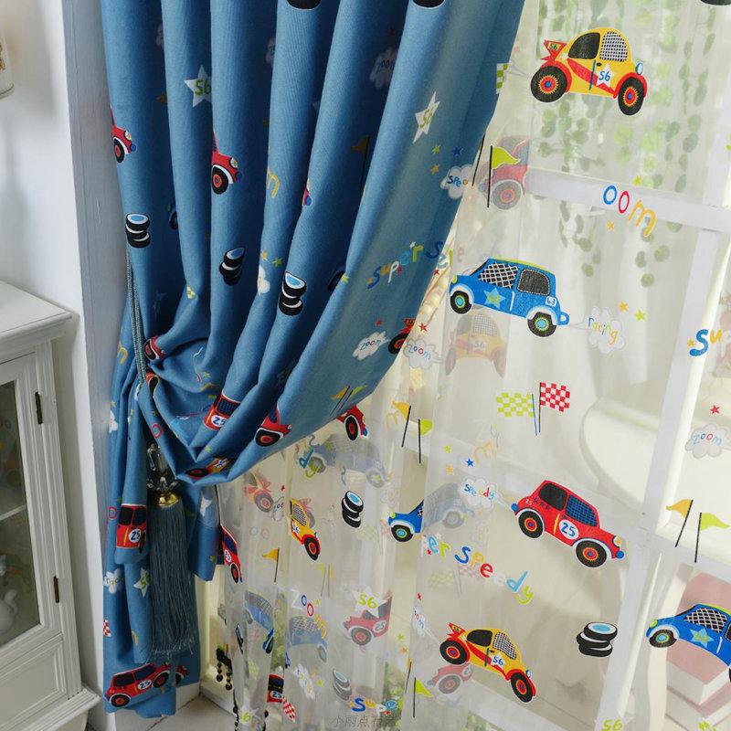 Модные и красивые шторы для детской комнаты