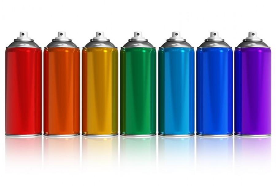 Использование аэрозольной краски