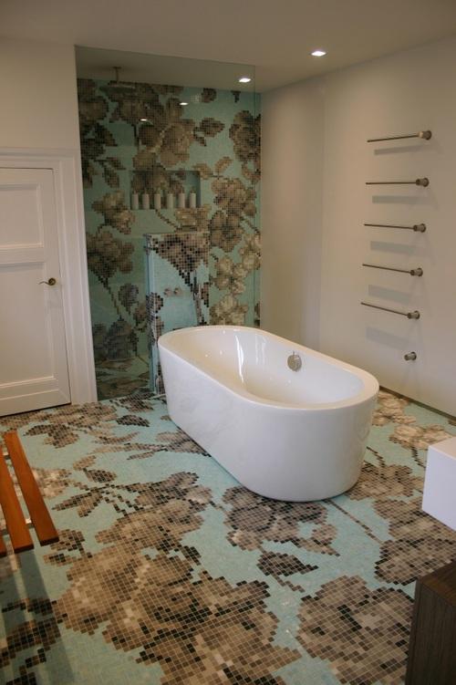 мозаичная плитка, полезные советы, ванная